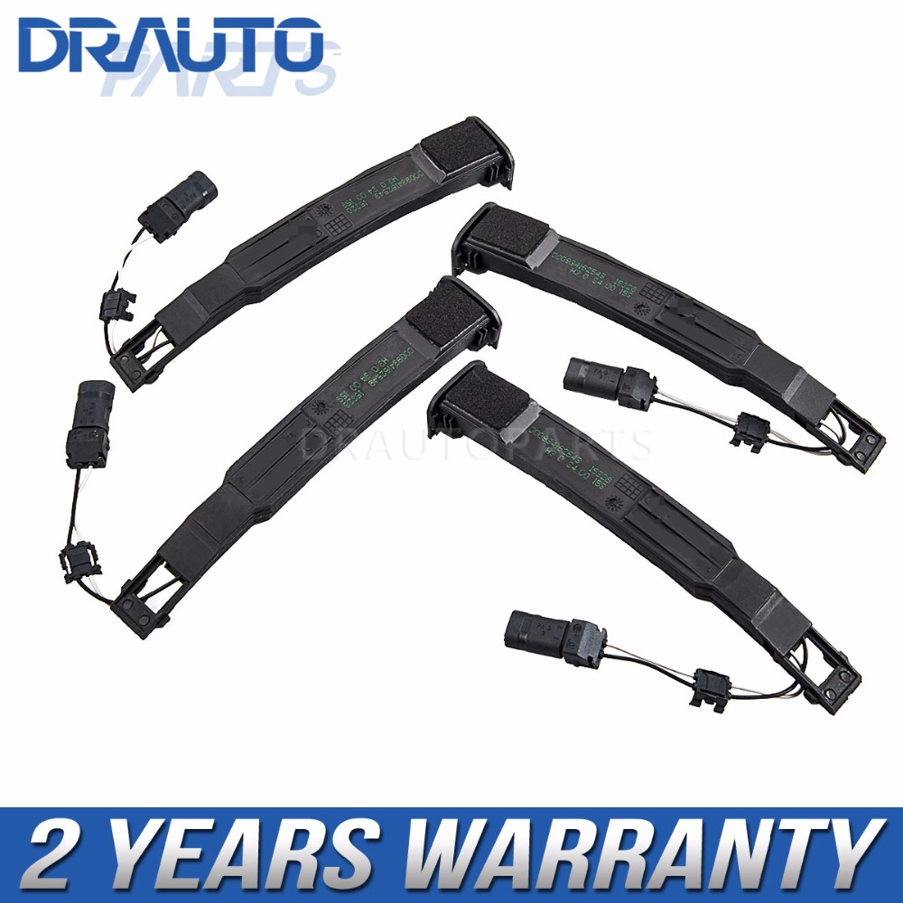 4 pcs OEM Exterior door handle Bar Sensor 4G8927753 For Audi A1 A4 A5 Q3 Q5 Q7/Avant A6 /Avant A8 RS4 RS5 RS6 quattro цена
