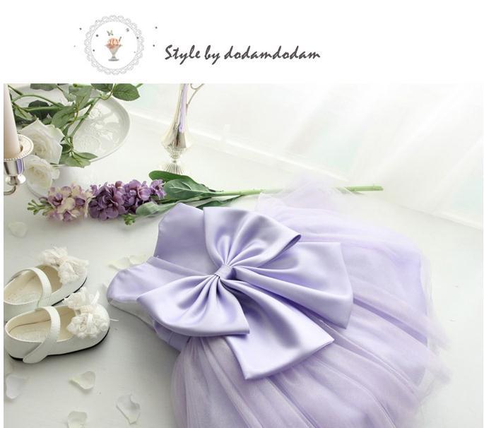 2018 Nowa urocza maluch baby girl party dress Najwyższej jakości - Odzież dla niemowląt - Zdjęcie 3