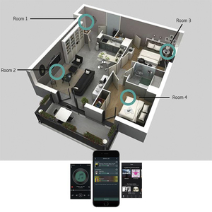 Image 5 - Arylic A50 Mini Hause WiFi und Bluetooth HiFi Stereo Klasse D digital multiroom verstärker mit Spotify Airplay Equalizer Kostenloser App