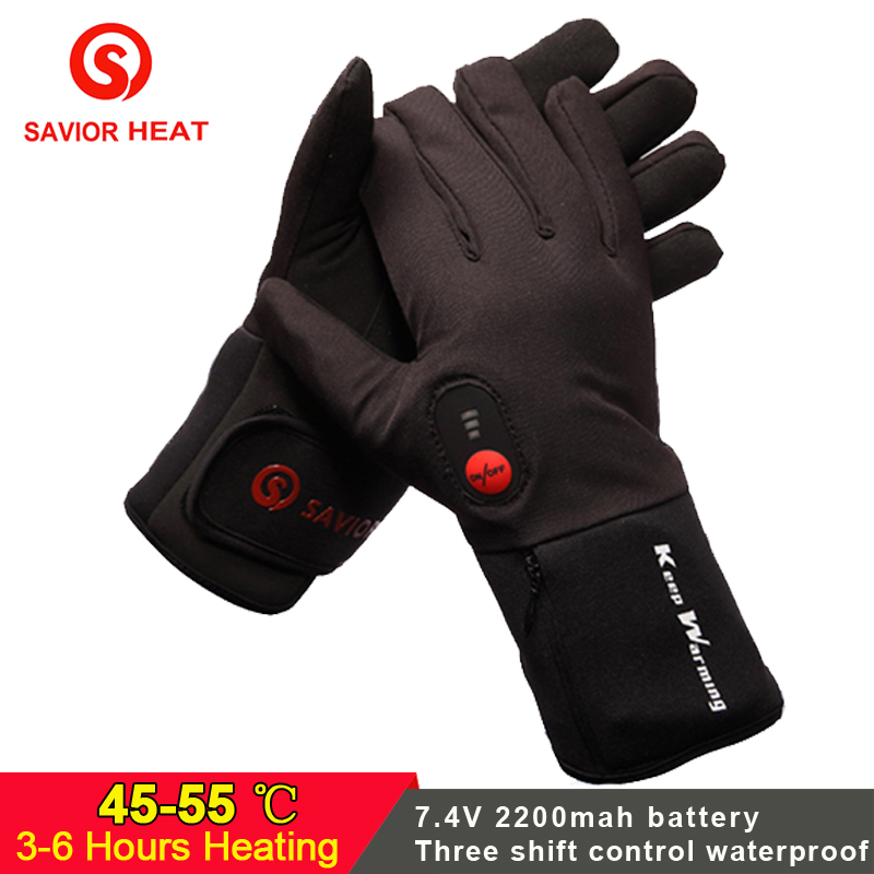 SAVIOR Electric battery Heated Gloves Smart Control 7.4V ...