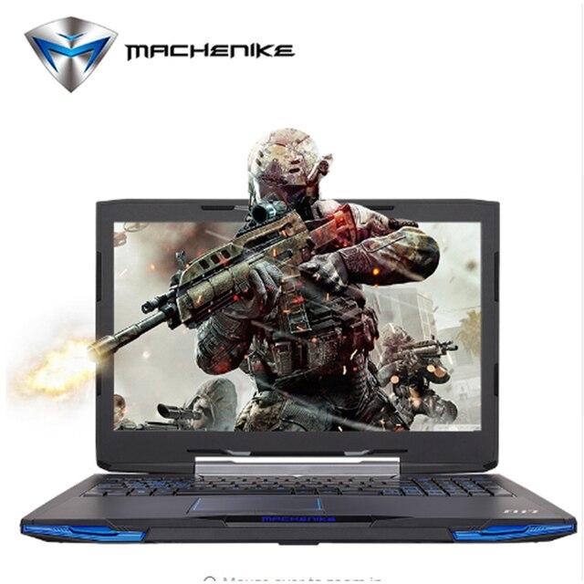 """Machenike F117 F1K 15.6"""" Gaming Notebook Laptop Intel i7 7700HQ GTX1050Ti 4G Video RAM RGB"""