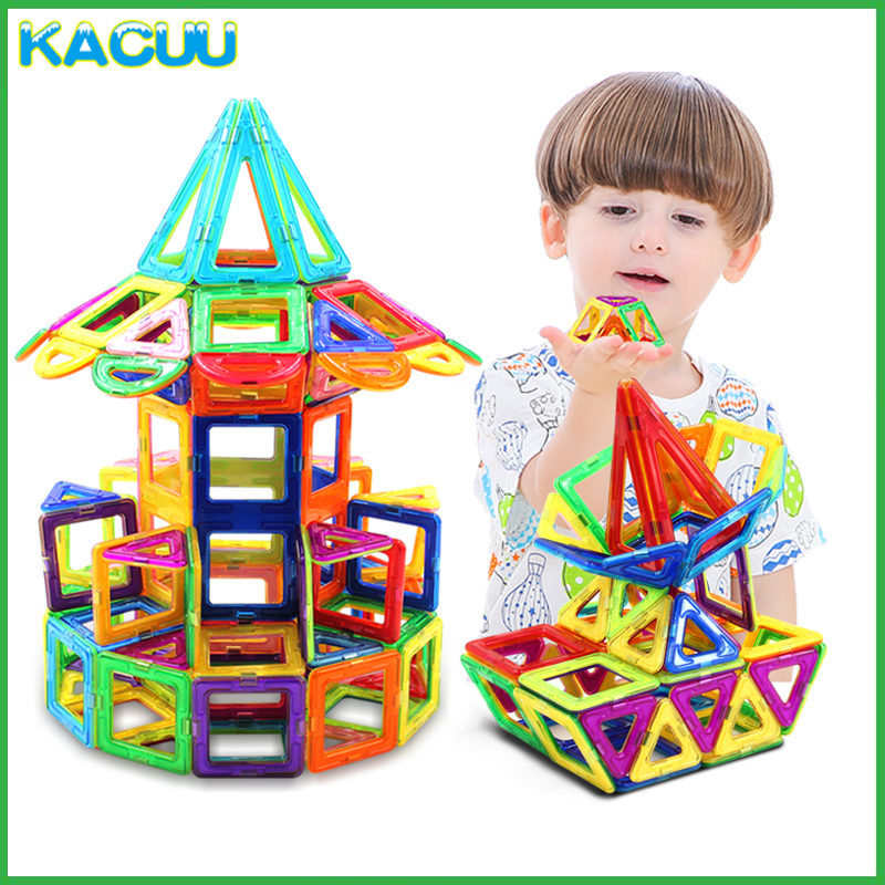 Big Size Magnetic Blocks Technic Plastic Building Blocks Girl&Boy Magnetic Blocks Constructor Blocks Assembly Toys For Children 162pcs big size magnetic designer construction building blocks toys technic plastic blocks assembly children enlighten bricks
