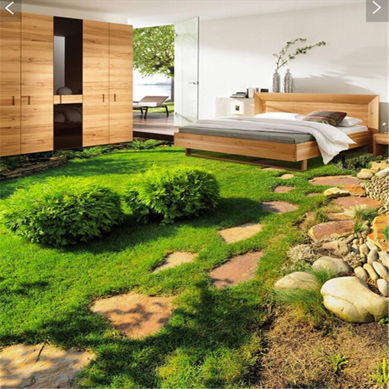 Beibehang papel de parede custom ground waterproof stereo for 3d flooring uk