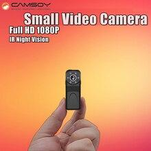 Thumb Размеры мини Камера 1080 P 720 P HD Ночное видение Micro Камера видео голос Регистраторы Малый Веб-Камера обнаружения движения Мини Cam