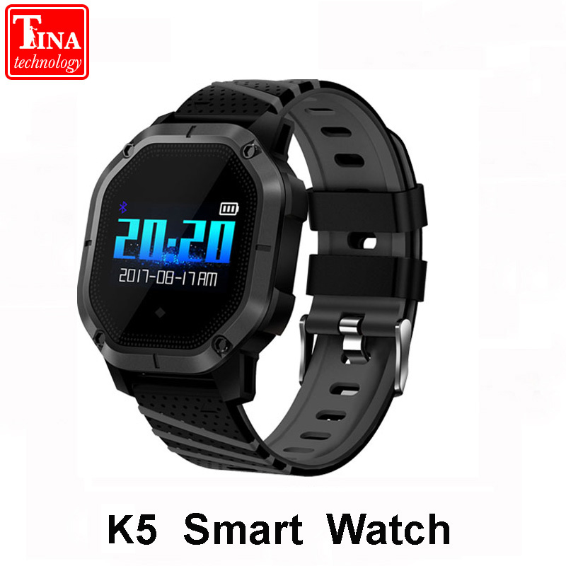 Original K5 Smart watch Multiple Sports Modes Swimming IP68 Waterproof Heart Rate Monitor Blood Oxygen Clock