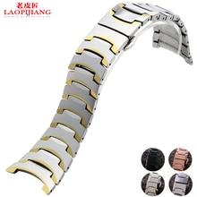 Đồng hồ với thay thế rado 6027 stee không gỉ vòng đeo tay watchband với bướm buckle và phụ kiện dây đeo cho nam giới và phụ nữ
