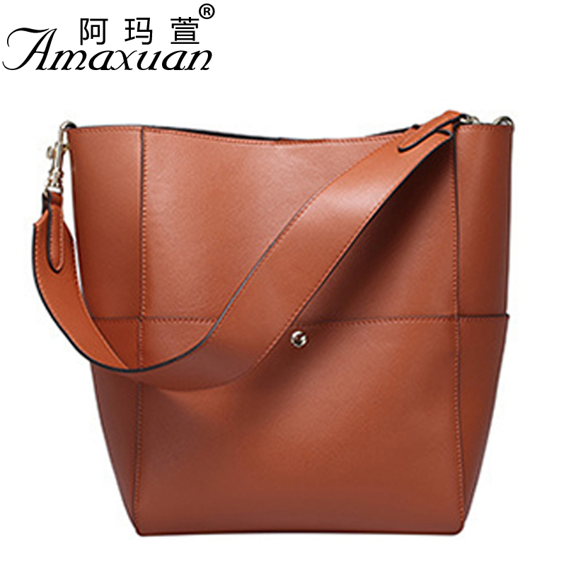 Fashion women ladies leather handbag 2017 new solid color luxury shoulder bag large capacity women crossbody bag BBH1380 недорго, оригинальная цена