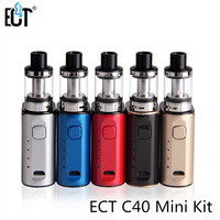 Original ECT C40 Mini Kit Vape Mod Kit 1800mah Battery Built In 2 0ml Tank Airflow