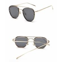 Vintage Metal Frame Sunglasses Women Brand New Designer Trend Sun Glasses 2017 Fashion Women Decoration Men Classic Eyewear