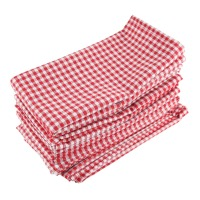 43 x 43cm cloth Napkins Set of 12pcs cotton linen heat insulation mat dining table mat children table Napkin fabric placemats
