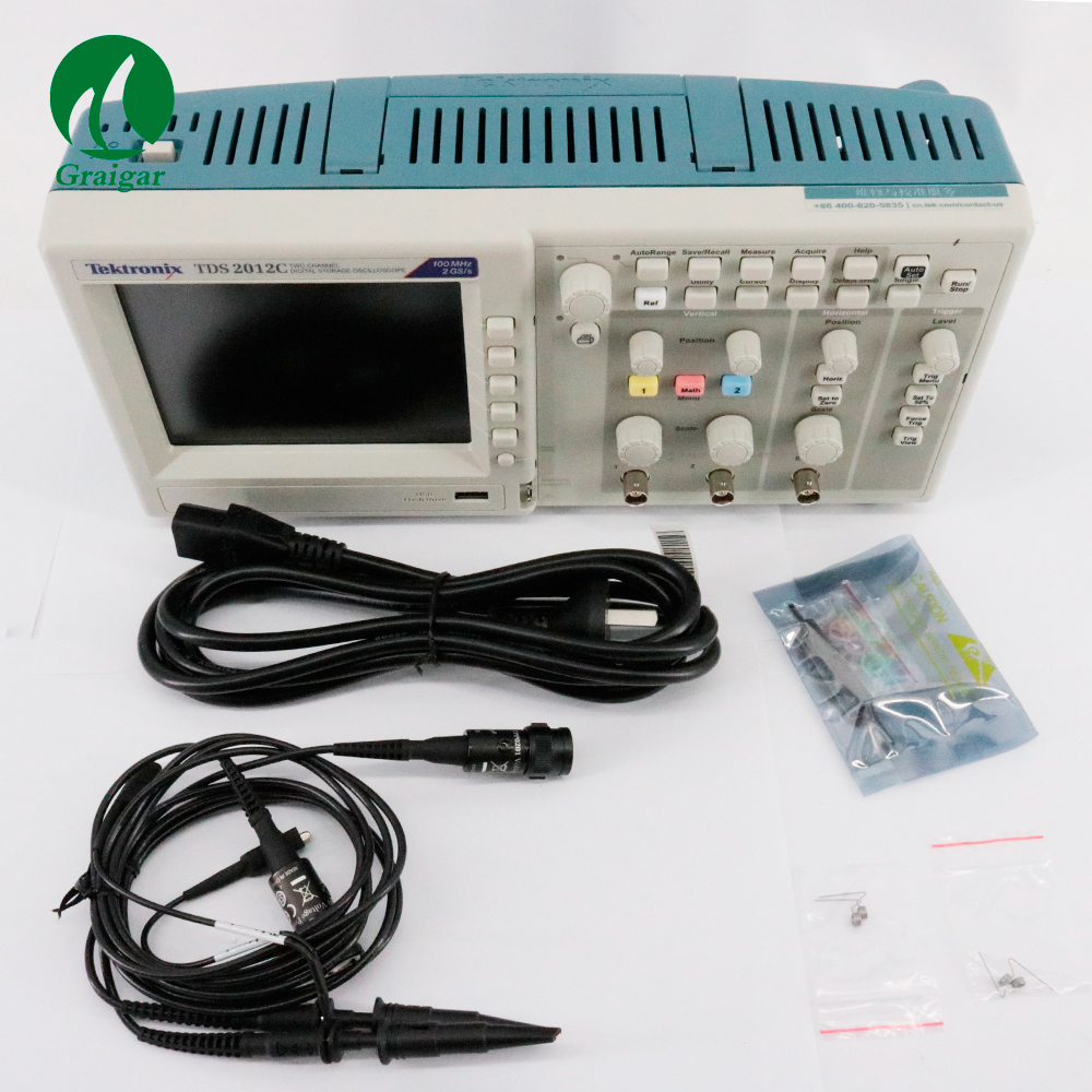 New Edition TDS2012C Tektronix Digital Storage Oscilloscope with 4 Channels by Fast Shipping цена