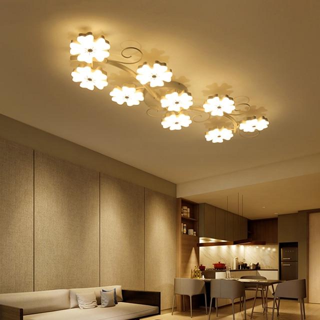 Plum Blossom Modellierung Oberflache Montiert Moderne Decke