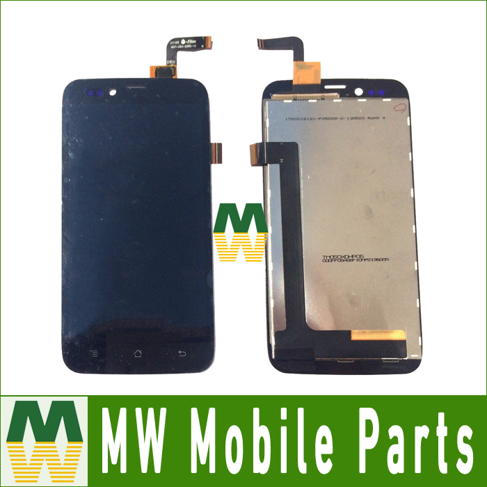 ФОТО 1PC /Lot Free Shipping For LCD Display And Touch Screen Black Digitizer For CCE Motion Plus SK504