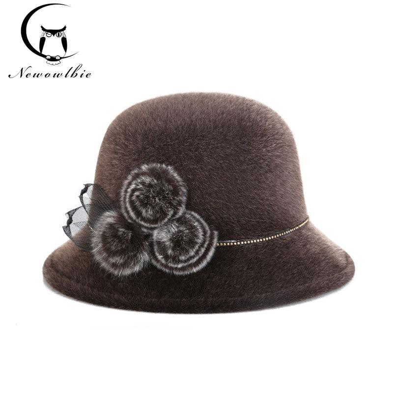 The 2017 Winter Warm Cold Must-have Fashion Ladies Hat Ladies ' Banquet Caps, Summer Sun Visor