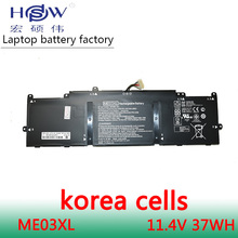 Free shipping New Genuine 11.4V 37Wh 3130mAh ME03XL battery for HP Stream 11 13-C010NR Notebook 787521-005 HSTNN-UB6M