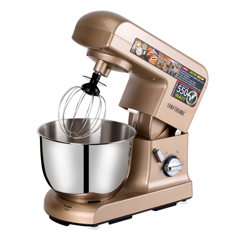 Electric Mixeur Household Food Mixer 4.5L Baking Stand Mixer Commercial Egg Beater Whipping Cream Dough Mixer Food Processor