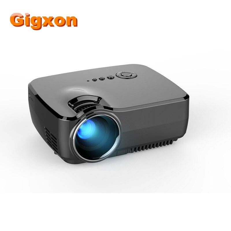Gigxon-G700  recién llegado de 1080 P Full HD Mini Portátil LED Proyectores de C