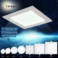 TSLEEN 1 ST ultradunne 12 W 15 W 18 W 24 W Ronde Vierkante Panel LED Opbouw Led-paneel Licht Downlight Plafond Down Lamp