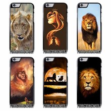 King Lion Cover Case For Iphone 4 4s 5 5c 5s se 6 6s 7 8 plus x xiaomi redmi note oneplus 3 3T 4X 3s