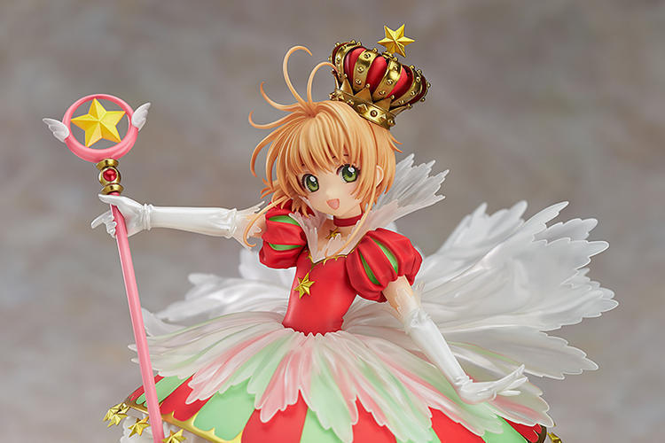 Anime Cardcaptor Sakura Figma Kinomoto Sakura PVC Action Figure Collectible Model Toy Doll 27cm no box 2017 rapunzel cosplay dress children girls long hair princess dress halloween costume clothes kids clothing with sleeves garland