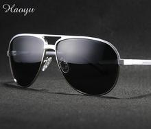 haoyu Sunglasses Men Polarized Driving Sun Glasses Mens Sunglasses Brand Designer Fashion Oculos De Sol Masculino