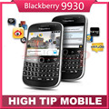 "Abierto original blackberry bold touch 9930 wi-fi gps 5.0mp 8 gb de memoria interna del teléfono móvil 2.8 ""de pantalla táctil reformado"