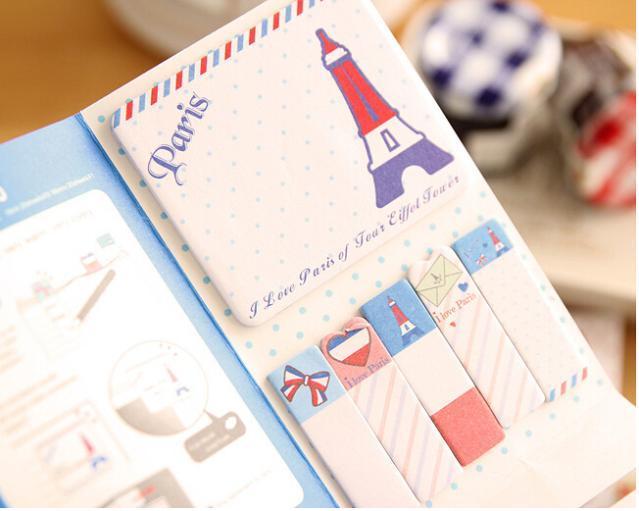 2015 1 5 etiqueta Post It Bookmark marcador memorando bandeiras de guia Pad notas