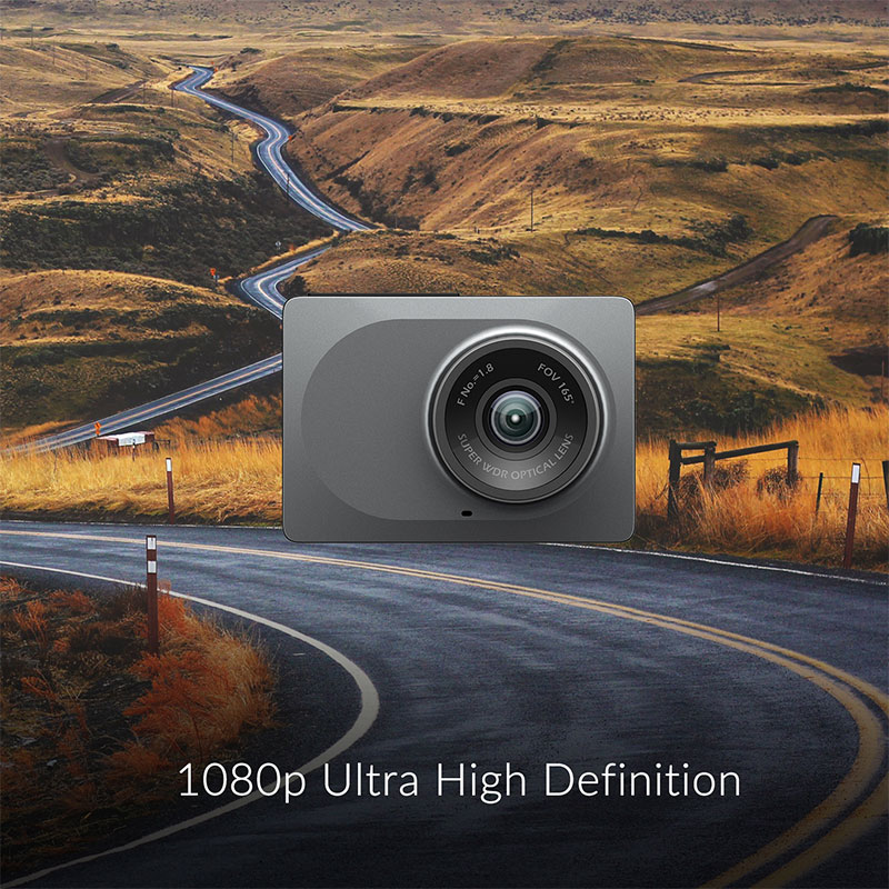 "Image 4 - YI Smart Dash Camera Full HD Car DVR Cam Video Recorder WiFi  Night Vision 1080P 2.7"" 165 Degree 60fps Camera Grey Car Recording-in DVR/Dash Camera from Automobiles & Motorcycles"