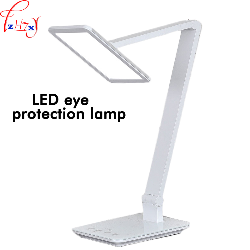 Touch dimming folding LED eye-care lamp 7.4 inch light source reading LED lamps LED dimmable desk lamp 36V 1pc ultra thin rechargeable 200lm 2 5w led table lamp light eye care dimmable desk lamp touch led reading lamp 3 lighting mode