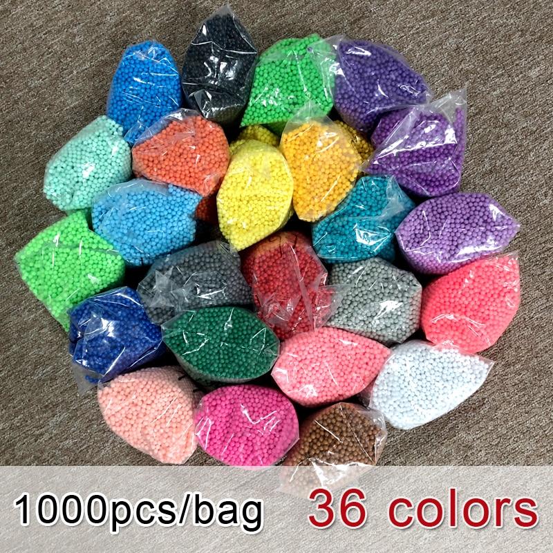 DOLLRYGA 1000pcs/bag Beads DIY Girls Toys For 10 Years Koraliki Do Prasowania Perles Enfant Mercerie Aqua Water Beads Dla Dzieci