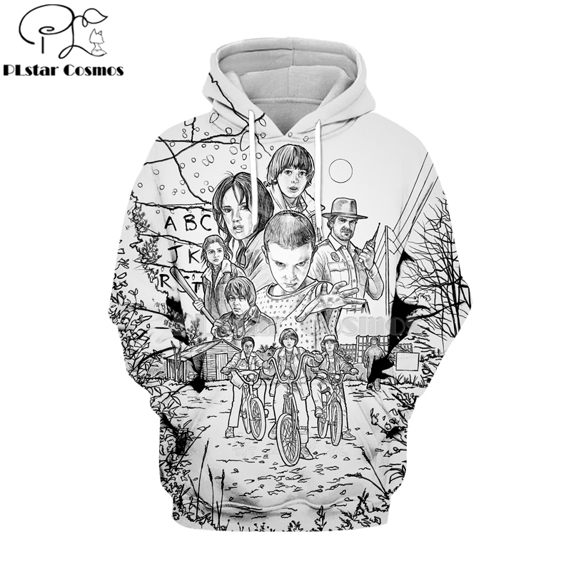PLstar Cosmos 2019 Stranger Things 3d Hoodies Hooded Sweatshirt Shirt Autumn Winter Long Sleeve Harajuku Hip Hop Streetwear-16