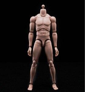"""Image 4 - جديد 1/6 عمل الشكل ذكر الجسم القوقاز الجلد MX02 A في الأوراق المالية لمدة 12 """"ألعاب الدمى عمل الشكل الجندي"""