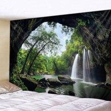 3d гобелен с принтом «Великая водопада» настенный декоративный