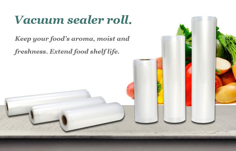 Plastic roll vacuum sealer description 1