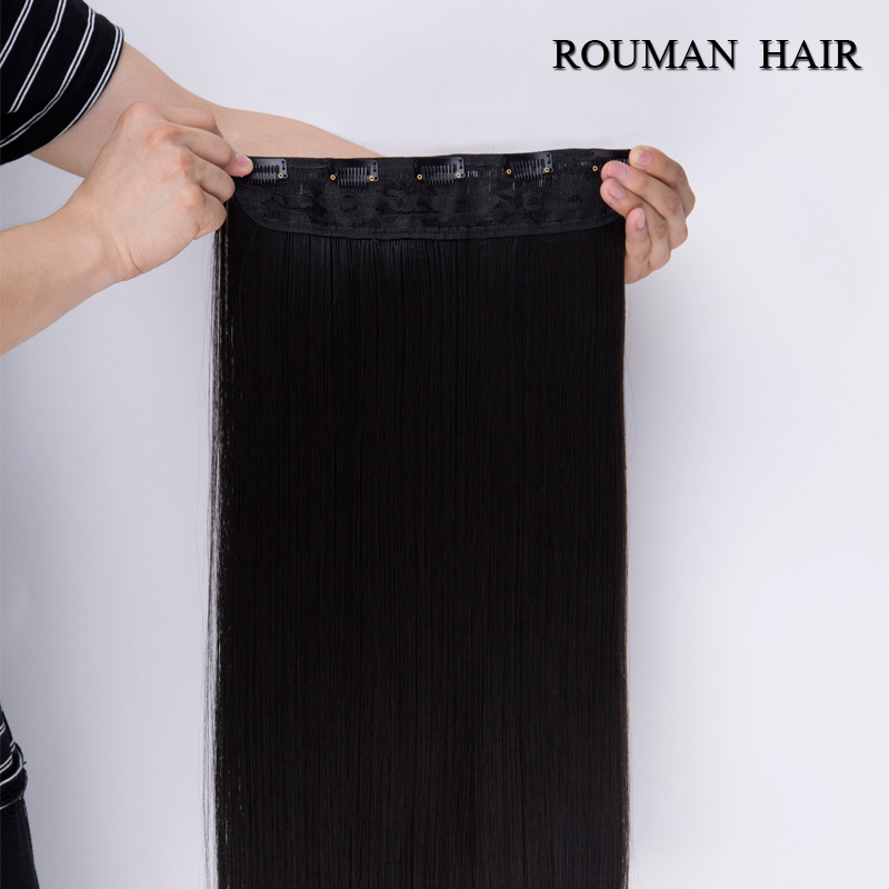 5 clips in hair extensions good quality brown black synthetic hair 5 clips in hair extensions good quality brown black synthetic hair extension 1 piece cheap popular girl women straight hair pad on aliexpress alibaba pmusecretfo Image collections