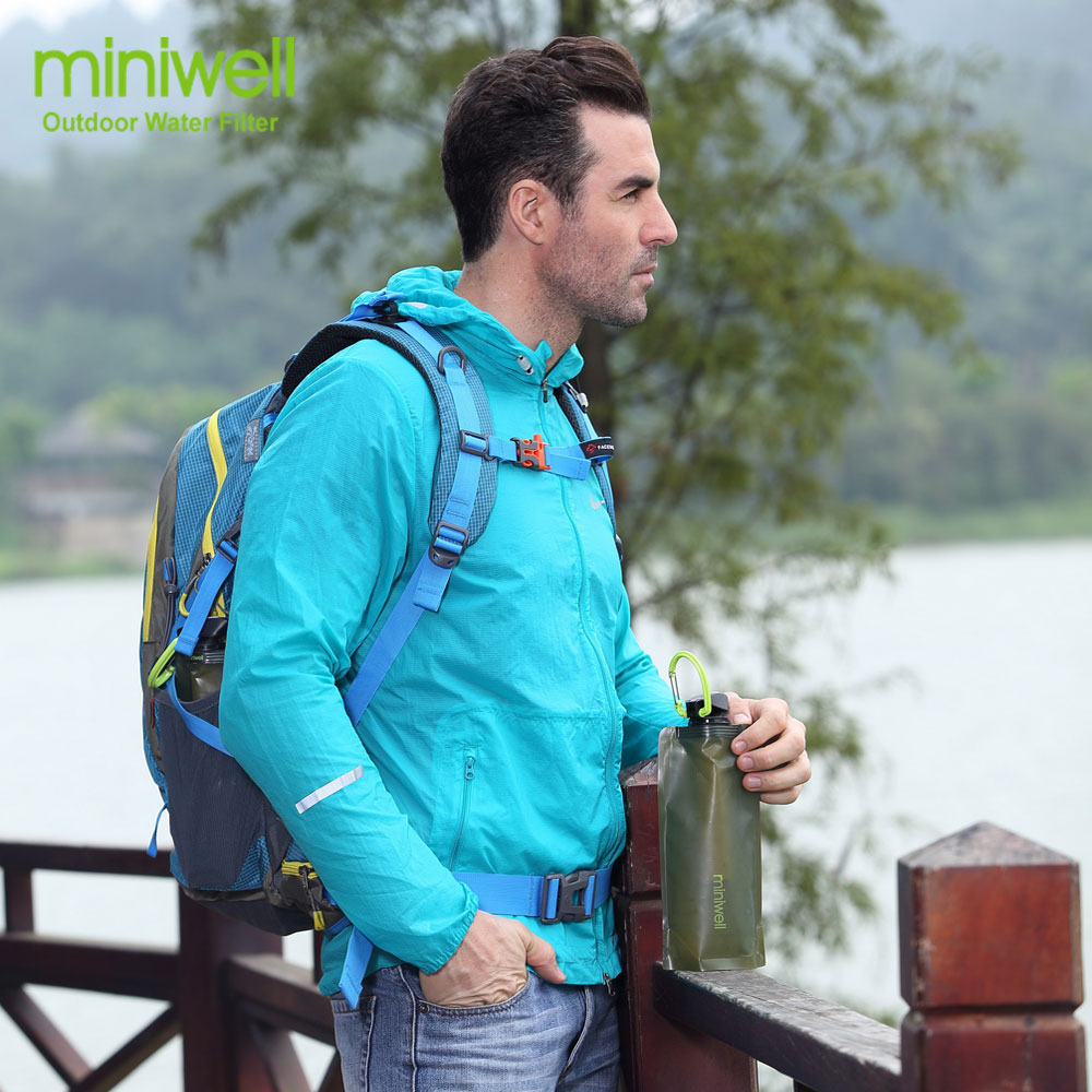 miniwell L620 Portable Water Purifier for camping and outdoor sports