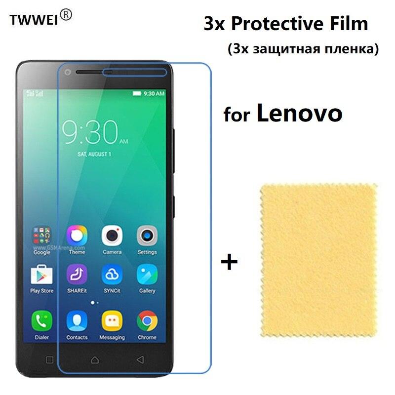 3x Защитная пленка для Lenovo A6010 Plus A6000 A7010 A2010 A536 Vibe Shot Z90 S1 X2 P70 P1 P2 (не стекло), пленка для защиты экрана