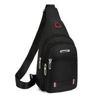 Men Chest Bag Male 2019 New Casual Functional Fanny Waist Bag Money Phone Belt Bags Sports Chest Bag Belt Pack Outdoor