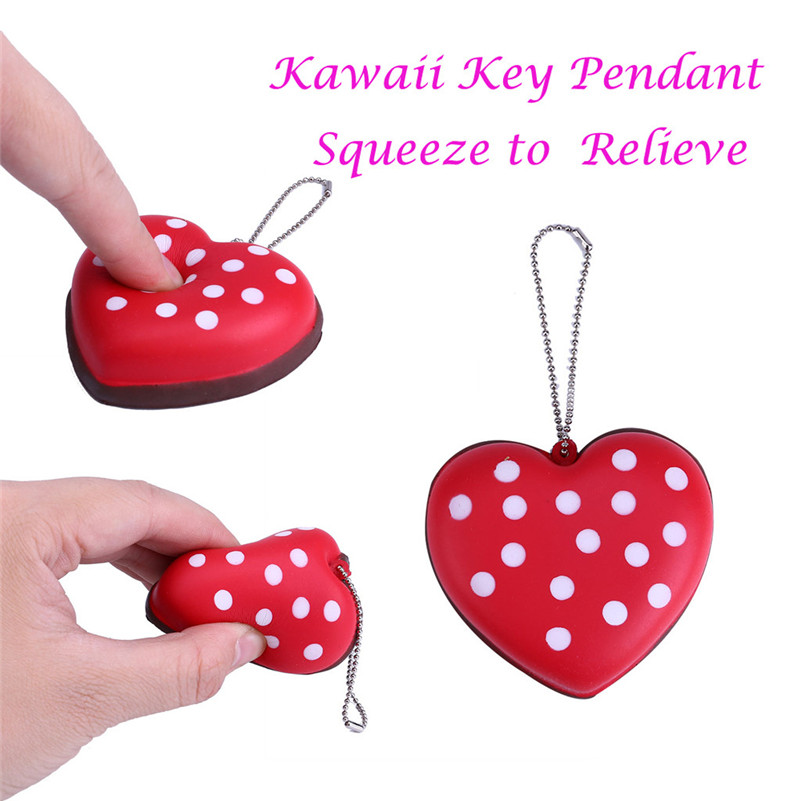 Surprise Mini Gift Slow Rising Scented Squeeze Relieve Stress Key Pendant  Squirrel Swipes Anti-stress For Kid QA