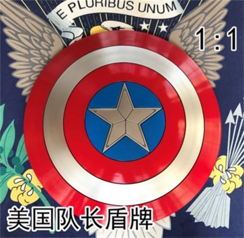 3 do filme Avengers Capitão América Escudo 1:1 Completa Escudo Cosplay Homens Do Partido Prop Forte Presente Início Arte Decoração ABS do Dia Das Bruxas