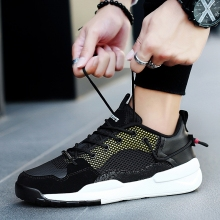 2018 New Spring/autumn Mens Sneakers Shoes Leisure Version of Hot Cloth Breathable Autumn Net Young 5