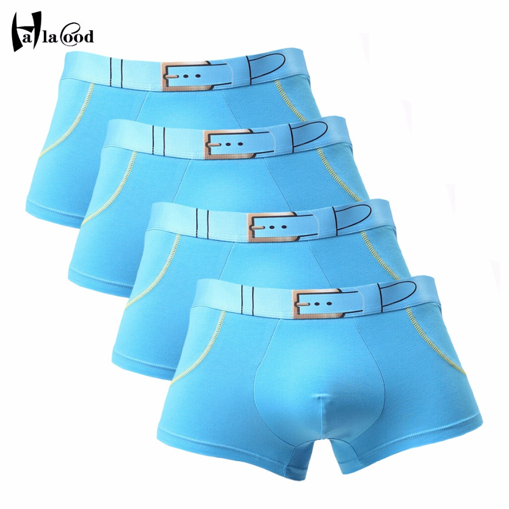 Hot Selling Brand Quality 2018 New Fashion Sexy Mens Boxers Shorts Cotton Man Underwear Male Underpant Mens Clothes Large Size