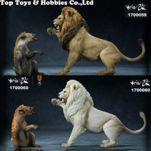 1/12 Mr.Z Animal Thunderfury African Lion VS Spotted Dog Set Toys Model Collection Resin Anime Figure for Collectible Fans Gift