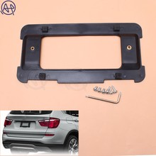 цена на Car Rear License Plate Holder Bracket Mount Frame Fit for ALL EU Imported Auto License Plate Frame Tag Cover