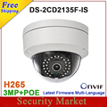 New arrival DS-2CD2135F-IS replace DS-2CD2132F-IS and DS-2CD2132-I H265  IP network dome poe cameras audio IPC