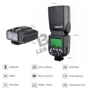 Image 3 - Godox ヴィング V860II V860II C/N/S/F/O TTL HSS 1/8000 スピードライトフラッシュキヤノンニコンソニー富士オリンパスデジタル一眼レフ VB 18 なしバッテリー