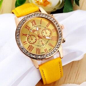 Fashion Yellow Jewelry Watches