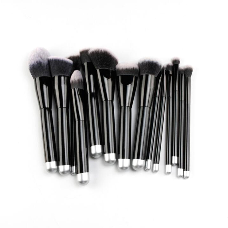 Top brand makeup brushes set professional cosmetic brush kit make up makeup tooles lit 11 in 1 professional cosmetic makeup brushes set brown coffee 11 pcs