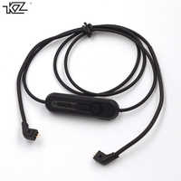 Original KZ Earphone Dedicated bluetooth Cable Upgraded line Replacement Cable For ZST ES3 ED12 ZSR High Quality bluetooth