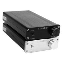 FX Audio FX1002A TDA7498E high power digital amplifier preamplifier audio decoder HiFi amplifier